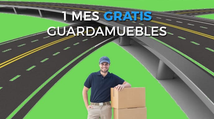 1 mes gratis de guardamuebles